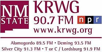 KRWG (FM) - Image: KRWG 90.7FM logo