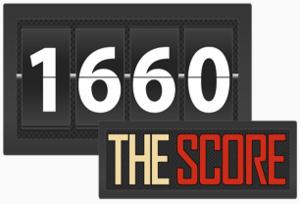 KWOD - Image: KWOD 1660The Score logo