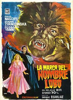 <i>The Mark of the Wolfman</i> 1968 Spanish film directed by Enrique López Eguiluz