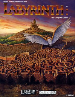 <i>Labyrinth: The Computer Game</i> graphic adventure computer game