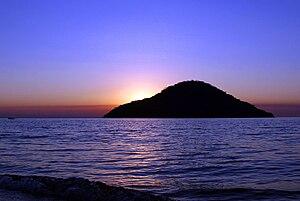 Cape Maclear - Looking towards Thumbi Island at sunset