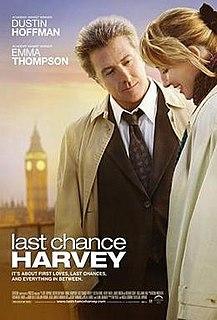 <i>Last Chance Harvey</i> 2008 film by Joel Hopkins