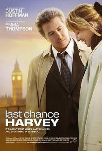 Last Chance Harvey - Theatrical release poster
