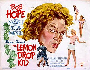 The Lemon Drop Kid - Theatrical release poster