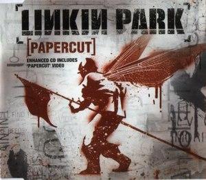 Papercut (Linkin Park song) - Image: Linkin Park Papercut CD cover
