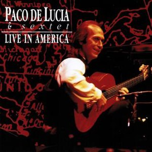 Live in América - Image: Live in América (Paco de Lucía album) coverart