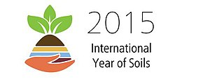 Soil governance - Image: Logo of International Year of Soils 2015