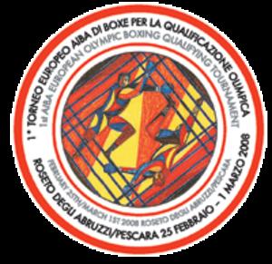1st AIBA European 2008 Olympic Qualifying Tournament - Image: Logoroseto 2008
