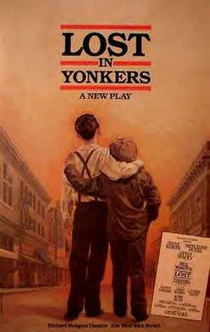 Lost in Yonkers - Original Broadway poster