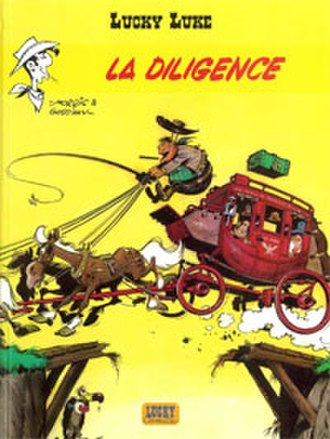 La Diligence (comics) - Cover of the French edition