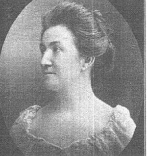 Commercial Telegraphers Union of America - Mary J. Macaulay(1865-1944), International Vice President, Commercial Telegraphers Union of America, 1919-1921. Source: Commercial Telegraphers Journal, February 1910, 41.