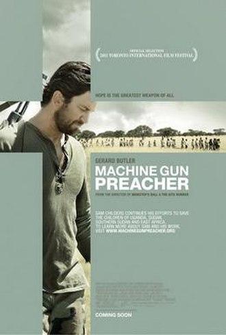 Machine Gun Preacher - Theatrical release poster