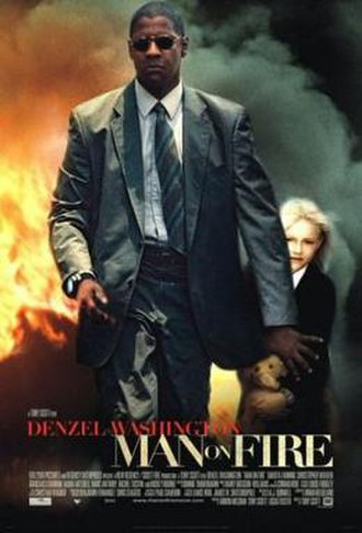 Man on Fire (2004 film) - Theatrical release poster