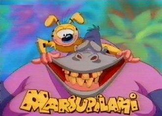 Marsupilami (1993 TV series) - Opening title card for Marsupilami