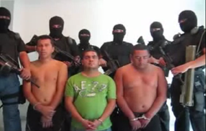 Jalisco New Generation Cartel - CJNG interrogating Zeta members.