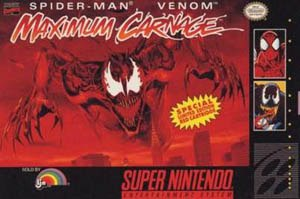 Spider-Man and Venom: Maximum Carnage - Spider-Man and Venom: Maximum Carnage cover art (North American version)