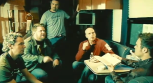 "So Long Self - MercyMe in the music video for ""So Long Self"""