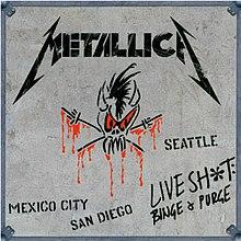 Metallica - Live Shit-Binge  Purge coverjpg