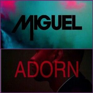 Adorn (song) - Image: Miguel Adorn