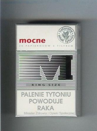 Mocne - Image: Mocne Cigarettes (Full Flavour)