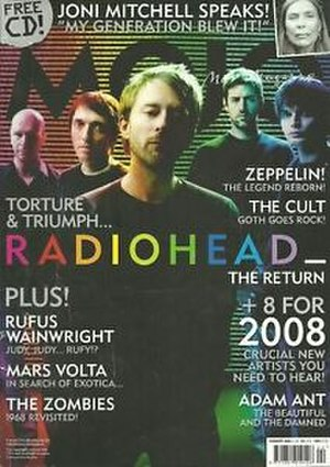 Mojo (magazine) - The February 2008 issue of Mojo