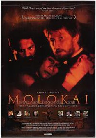 Molokai: The Story of Father Damien - Promotional poster for the film