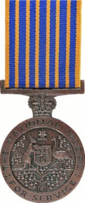 National Medal (Australia) - Image: National Medal (Australia)
