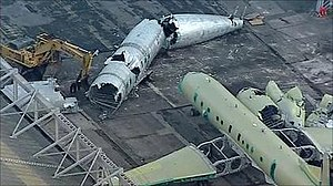 BAE Systems Nimrod MRA4 - Nimrod airframes being broken up for scrap in January 2011