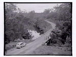 Nowa Nowa, Victoria - Toorloo Arm, Princes Highway, Nowa Nowa