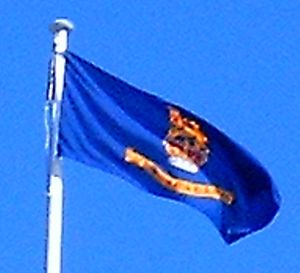 Flag of the Governor-General of New Zealand - The flag flown above Parliament for the inauguration of Anand Satyanand as Governor-General (2006)