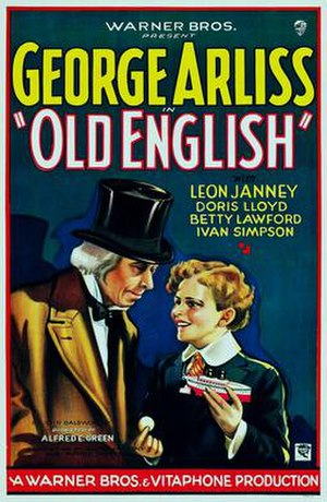Old English (film) - Image: Old English 1930 Poster