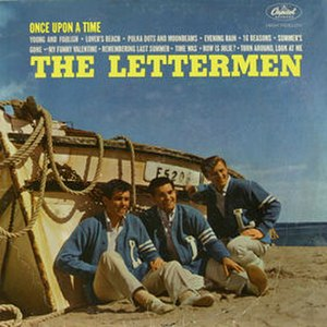 Once Upon a Time (The Lettermen album) - Image: Once Upon a Time (The Lettermen album) cover