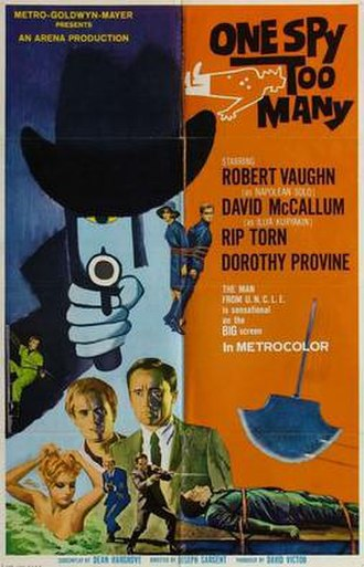 One Spy Too Many - Image: One Spy Too Many Poster