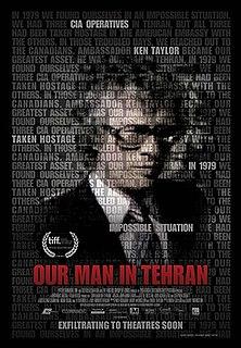 <i>Our Man in Tehran</i> Canadian documentary film (2013)