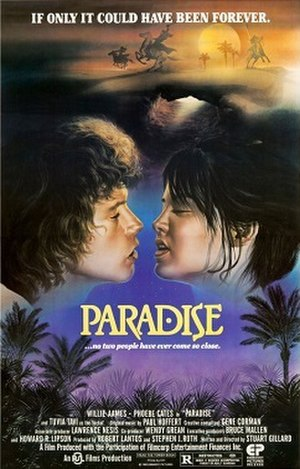 Paradise (1982 film) - Theatrical release poster