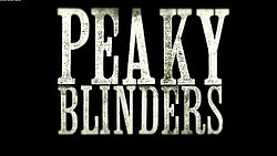 Peaky Blinders Wikipedia