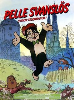Pelle Svanslös fictional cat created by Gösta Knutsson