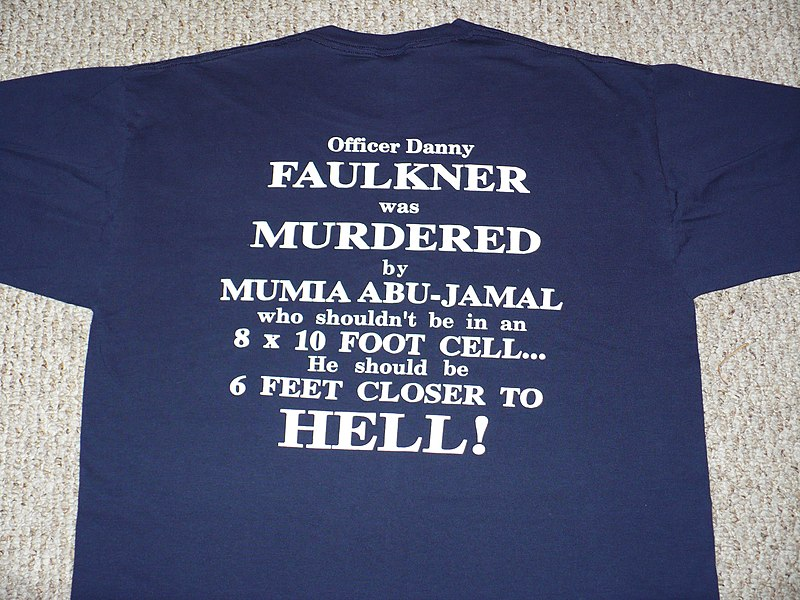 800px-Photo_of_anti_Mumia_Abu_Jamal_T-Shirt.JPG