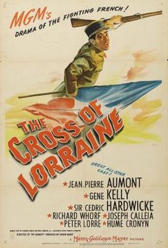 The Cross of Lorraine - Image: Poster of the movie The Cross of Lorraine