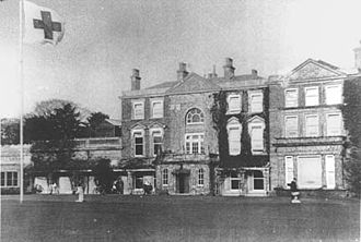 Birchington-on-Sea - Quex House as an Auxiliary Military Hospital during World War I