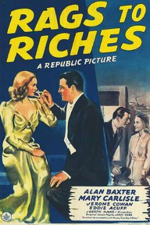 Rags to Riches (1941 film) - Theatrical release poster