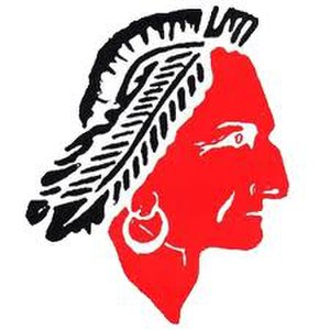 South Point High School (North Carolina) - Image: Red Raider, South Point High School Mascot