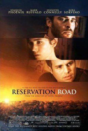 Reservation Road - Theatrical release poster