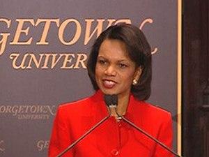 Transformational Diplomacy - Rice again speaks at Georgetown on Transformational Diplomacy in February, 2008