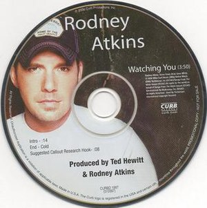 Watching You (Rodney Atkins song) - Image: Rodney Atkins watching you