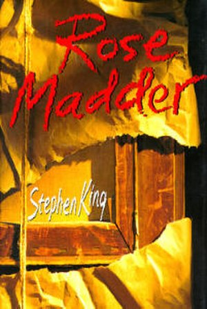 Rose Madder (novel) - First edition cover