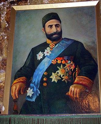 Zeynalabdin Taghiyev - A painting of Zeynalabdin Taghiyev (Taghioff).