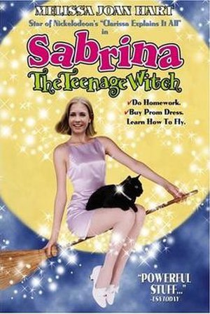 Sabrina the Teenage Witch (film) - VHS cover