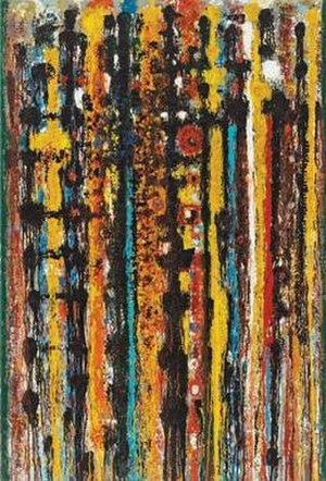 Richard Pousette-Dart - Savage Rose by Richard Pousette-Dart, 1951