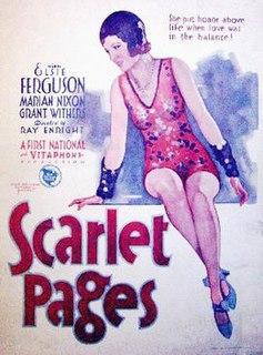 <i>Scarlet Pages</i> 1930 film